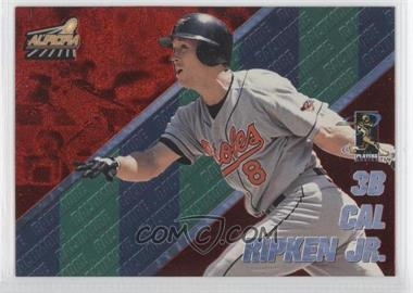 1998 Pacific Aurora Pennant Fever Red #8 - Cal Ripken Jr.