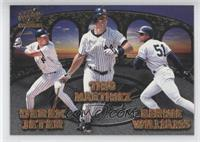 Derek Jeter, Tino Martinez, Bernie Williams