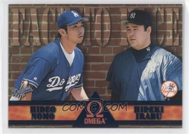 1998 Pacific Omega [???] #9 - Hideo Nomo, Hideki Irabu