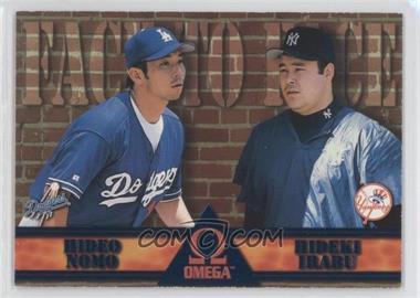 1998 Pacific Omega Face to Face #9 - Hideo Nomo, Hideki Irabu