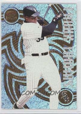 1998 Pacific Revolution - [Base] - Shadow Series #37 - Frank Thomas /99