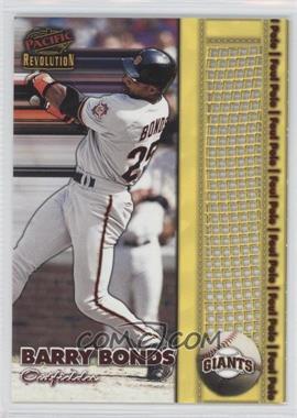 1998 Pacific Revolution - Foul Pole #20 - Barry Bonds