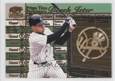 1998 Pacific Revolution - Prime Time Performers #6 - Derek Jeter