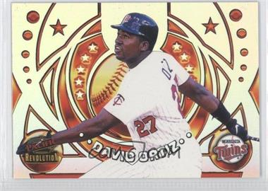 1998 Pacific Revolution - Rookies and Hardball Heroes #10 - David Ortiz