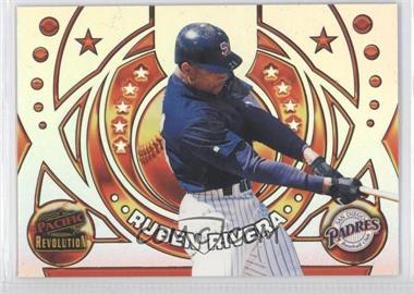 1998 Pacific Revolution Rookies and Hardball Heroes #18 - Ruben Rivera