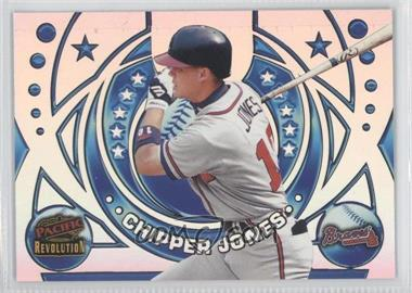 1998 Pacific Revolution Rookies and Hardball Heroes #21 - Chipper Jones