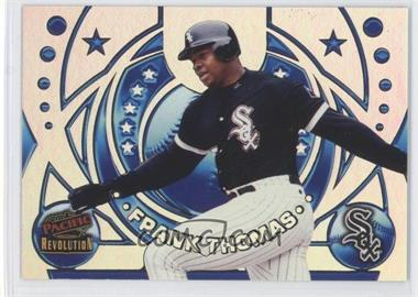 1998 Pacific Revolution Rookies and Hardball Heroes #25 - Frank Thomas