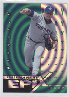 1998 Pinnacle - Epix Play - Green #E16 - Roger Clemens