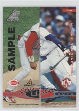 1998 Pinnacle Inside Stand Up Guys Samples #6-A - Nomar Garciaparra, Derek Jeter (Alex Rodriguez, Barry Larkin)