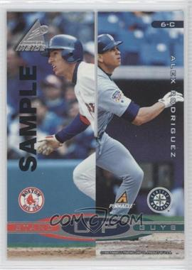 1998 Pinnacle Inside Stand Up Guys Samples #6-C - Alex Rodriguez, Barry Larkin (Derek Jeter, Nomar Garciaparra)
