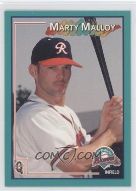 1998 Q Cards Richmond Braves #21 - Marty Malloy