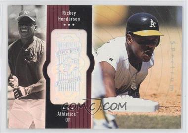 1998 SPx Finite Spectrum #110 - Rickey Henderson /2250