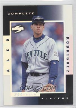 1998 Score - Complete Players - Sample #3A - Alex Rodriguez