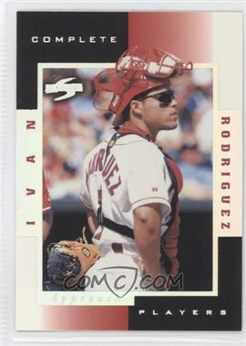 1998 Score - Complete Players - Sample #7A - Ivan Rodriguez