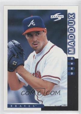 1998 Score [???] #9 - Greg Maddux