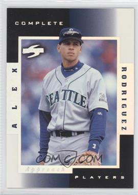 1998 Score Complete Players Sample #3A - Alex Rodriguez