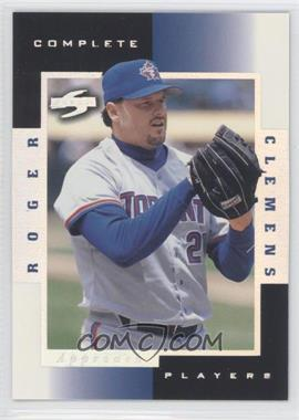 1998 Score Complete Players Sample #8A - Roger Clemens
