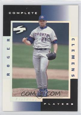1998 Score Complete Players Sample #8C - Roger Clemens