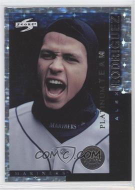 1998 Score Team Collection Seattle Mariners Platinum Team #2 - Alex Rodriguez