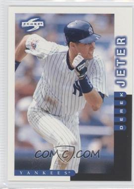 1998 Score #22 - Derek Jeter