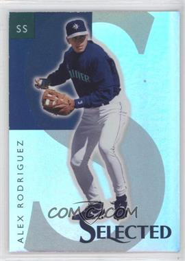 1998 Select Selected Samples #6 - Alex Rodriguez