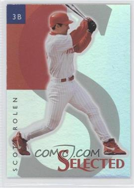 1998 Select Selected Samples #9 - Scott Rolen