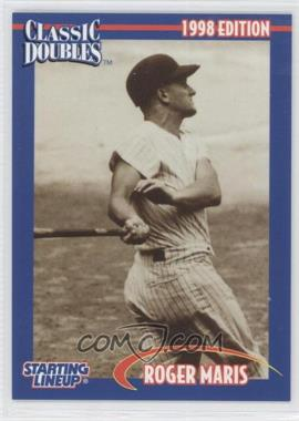 1998 Starting Lineup Cards Classic Doubles #9 - Roger Maris