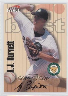 1998 Team Best [???] #N/A - A.J. Burnett