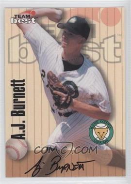 1998 Team Best/Best - Signature Series Autographs #AJBU - A.J. Burnett