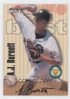 1998 Team Best/Best Signature Series Autographs #N/A - A.J. Burnett