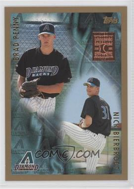 1998 Topps - [Base] - Minted in Cooperstown #499 - Brad Pennington, Nick Bierbrodt