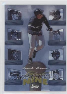 1998 Topps - Clout Nine #C3 - Frank Thomas