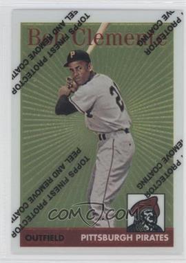 1998 Topps - Roberto Clemente Reprints - Finest #4 - Roberto Clemente