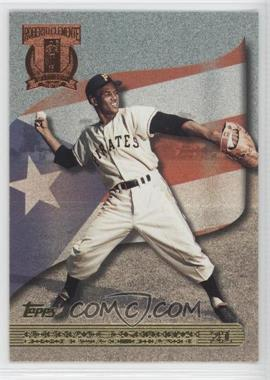 1998 Topps A Tribute to Roberto Clemente #RC5 - Roberto Clemente