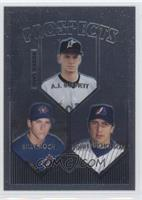 A.J. Burnett, Billy Koch, Jose Nieves