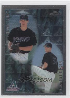 1998 Topps Chrome #499 - Nick Bierbrodt, Brad Penny