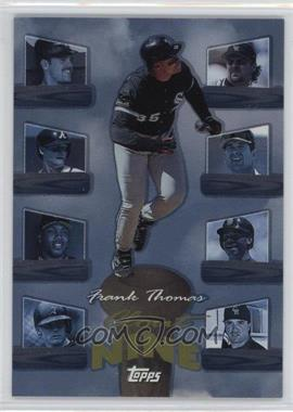 1998 Topps Clout Nine #C3 - Frank Thomas