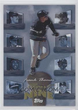 1998 Topps Clout Nine #C3 - Frank Thomas