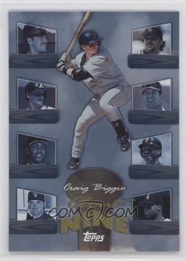 1998 Topps Clout Nine #C4 - Craig Biggio