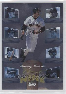 1998 Topps Clout Nine #C7 - Barry Bonds