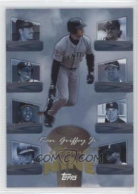 1998 Topps Clout Nine #C8 - Ken Griffey Jr.