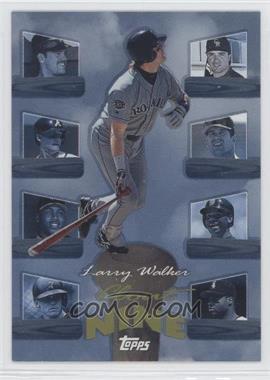 1998 Topps Clout Nine #C9 - Larry Walker