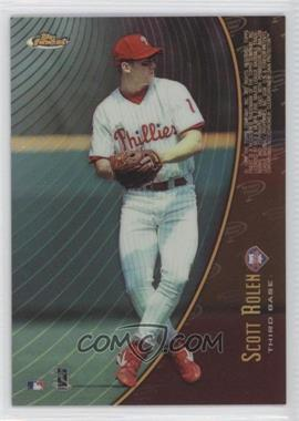 1998 Topps Finest [???] #M6 - Scott Rolen, Albert Belle