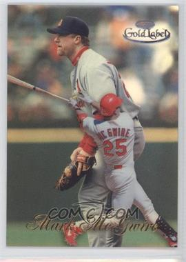 1998 Topps Gold Label - Class 1 - Black Label #15 - Mark McGwire
