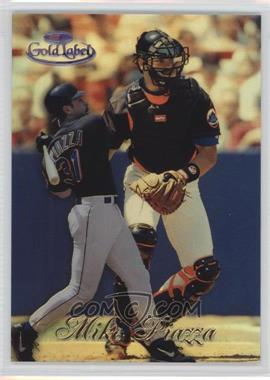 1998 Topps Gold Label - Class 1 - Black Label #60 - Mike Piazza