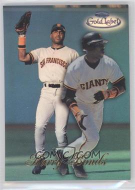 1998 Topps Gold Label - Class 1 - Black Label #65 - Barry Bonds
