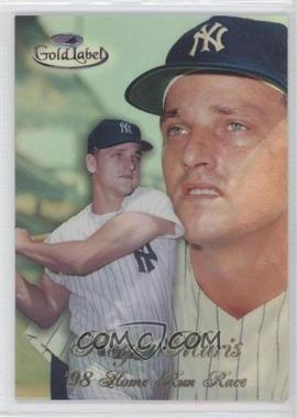 1998 Topps Gold Label - Home Run Race - Black Label #HR1 - Roger Maris