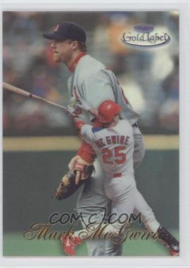 1998 Topps Gold Label Class 1 Black Label #15 - Mark McGwire