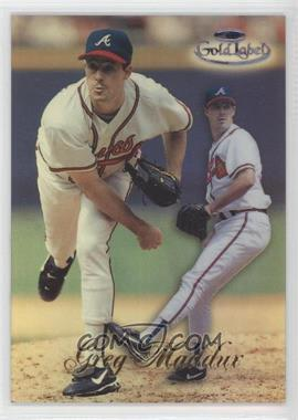 1998 Topps Gold Label Class 1 Black Label #2 - Greg Maddux