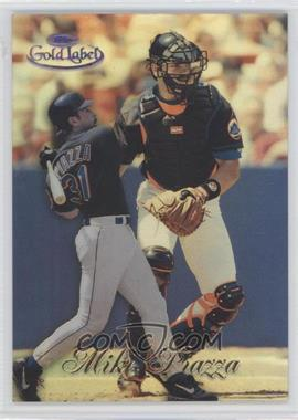 1998 Topps Gold Label Class 1 Black Label #60 - Mike Piazza